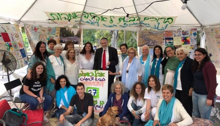 Rav Malkior visit to our mothers tent