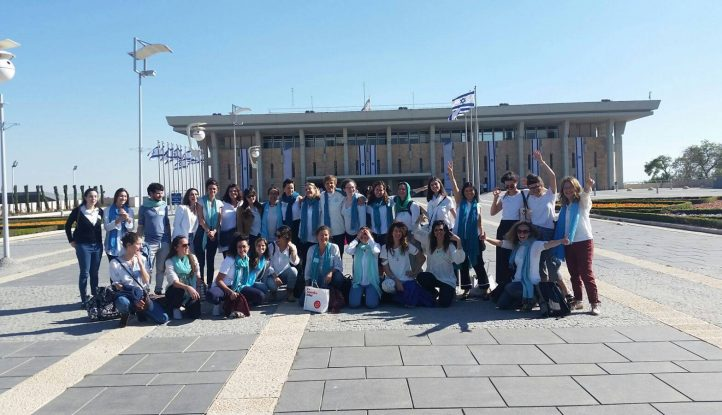 youngwwp at the knesset