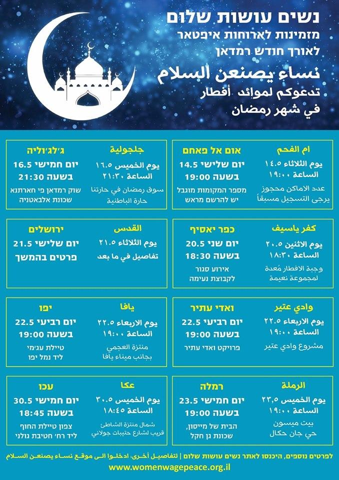 Ramadan iftar events