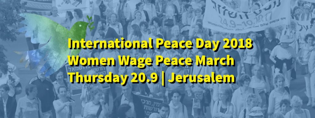 peace day english banner